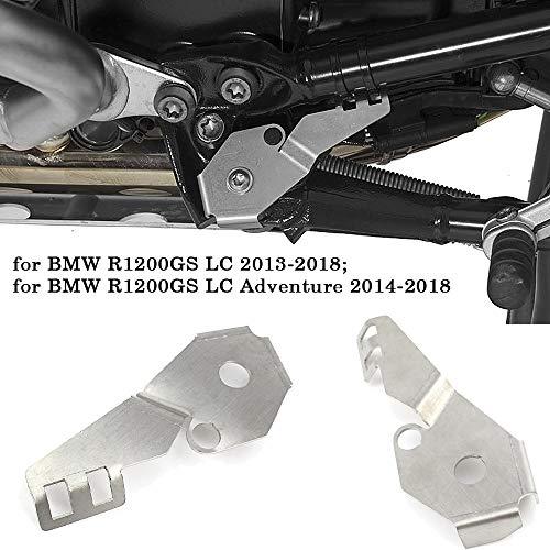 YUQINN Moto Partes Tapa del interruptor del caballete lateral de la motocicleta Accesorios protector for BMW R1200GS LC R 1200 GS Adventure LC Adv 2014-2017