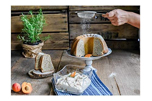 Hobbybäcker Süßer Schnee ★ professionelle Alternative zu Puderzucker extrafein, 500 g
