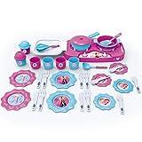 #1018 Disney Frozen Kochset Herdplatte und Zubehr  Kinderkche Spielkche Spielzeug Kche Kinder Geschirr Set