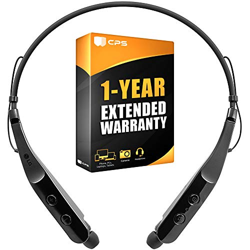 LG HBS-510.ACUSBKI Tone Triumph HBS-510 Wireless Bluetooth Headset Black Bundle with 1 Year Extended Warranty