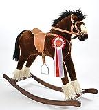 ALANEL Titan Sehr Hochwertiges Großes Schaukelpferd / Schaukeltier Handarbeit NEU & OVP (Twister)