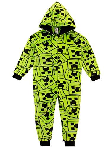 Minecraft Pijama Entera para niños Multicolor Creeper 8-9 años
