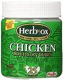 Herb-Ox Bouillon Cubes Chicken Bouillon 25 Ct 3.33-oz (Gluten Free)