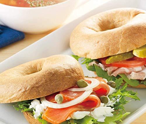 ベーグル 糖質 低糖質パン プレーン 1袋8個入り 糖質オフ 糖質制限 低糖パン 低糖質パン 100gあたり糖質4.8g 低糖質ベーグル