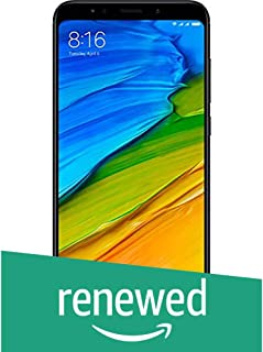 (Renewed) Redmi Note 5 MZB5916IN (Black, 4GB RAM, 64GB Storage)