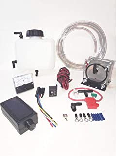 HHO Dry Fuel Cell Kit Pro 1 Hydrogen Single Dry Cell Hho System 2 Qt. Capacity Tank & 30 Amp Pwm