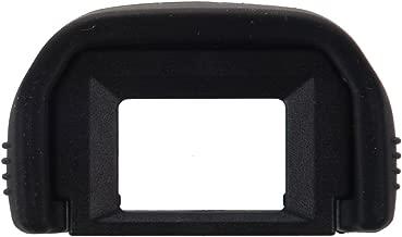 SODIAL(R) Ocular Parasol de Plastico Revestido de Goma Negro EF para Canon EOS 300D 350D 400D