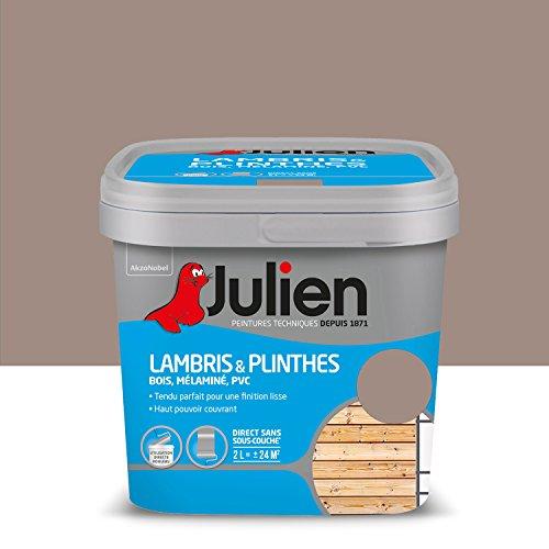Peinture Julien pour Lambris & Plinthes - Satin Taupe 2 L