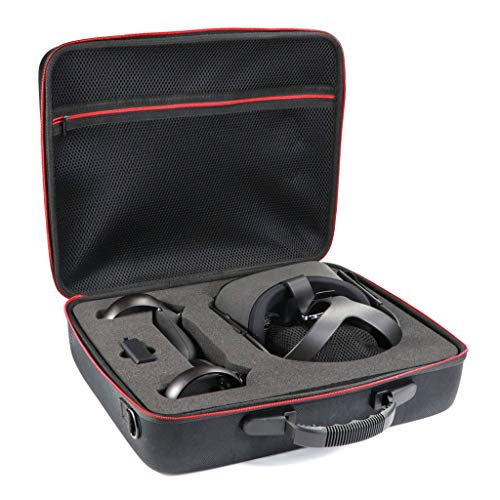 Lowest Prices! Neigei Hard Carrying Case for Oculus Quest All-in-one VR Gaming Headset and Controllers Accessories, Protective Storage Travel Bag for Oculus Quest (Black)