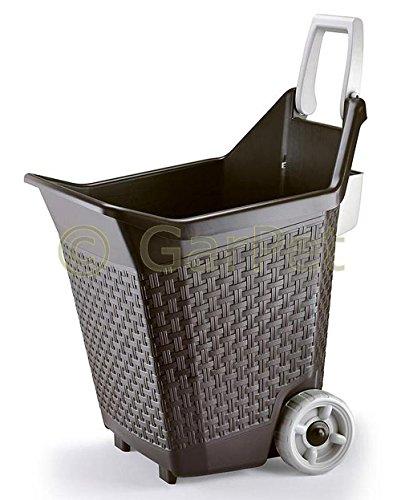 Bama Spa Trolley für Garten Geräte Gartenhelfer Transport Werkzeug Sackkarre Hand Wagen
