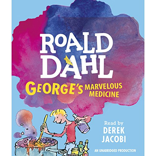 George's Marvelous Medicine audiobook cover art