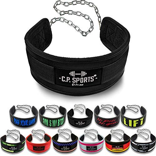 C.P. Sports Cinturón de inmersión Standard G5-1, Cinturón de Peso Extra para Pull-ups y dips