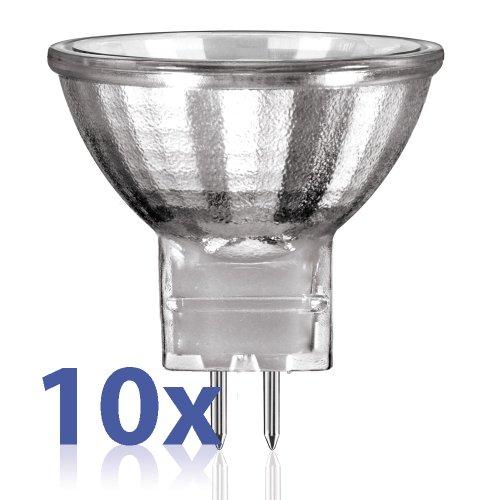 10 x Halogen Spiegellampe Kaltlicht Reflektor Strahler MR11 G4 10W 10 Watt 12V