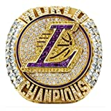 2020 Lakers Championship Ring 2020 Official Version Detachable Ring Replica Lebron LA Champions Ring with LOVECHAMPIONRING Box for Collection Fans Gift(Size 11)
