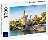 Lais Puzzle La Torre del Oro en Sevilla, Andalucía, España 1000 Piezas