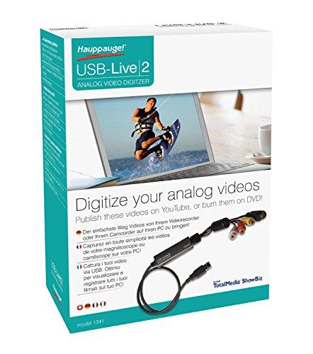 Hauppauge WinTV-USB-live2 01341 Analog Video-Grabber