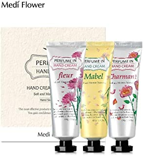 [MediFlower] パフュームインハンドクリーム?スペシャルセット 80g x 3個セット / Perfume Hand Cream Specail Set