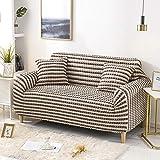 Funda de Sofá Elástica 3 plazas 1 Uds, Fundas de sofá elásticas elásticas, Funda de sofá seccional para sofá de Esquina para Sala de Estar