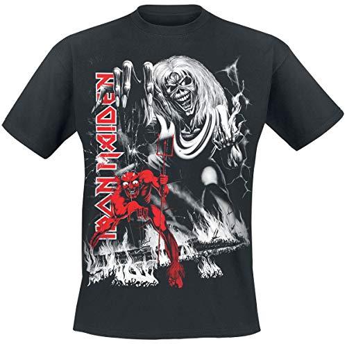 Iron Maiden Number Of The Beast T-Shirt Nero M
