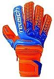 Reusch Soccer Prisma Pro M1 Ortho Tec Junior Goalkeeper Glove, 5, Orange/Blue