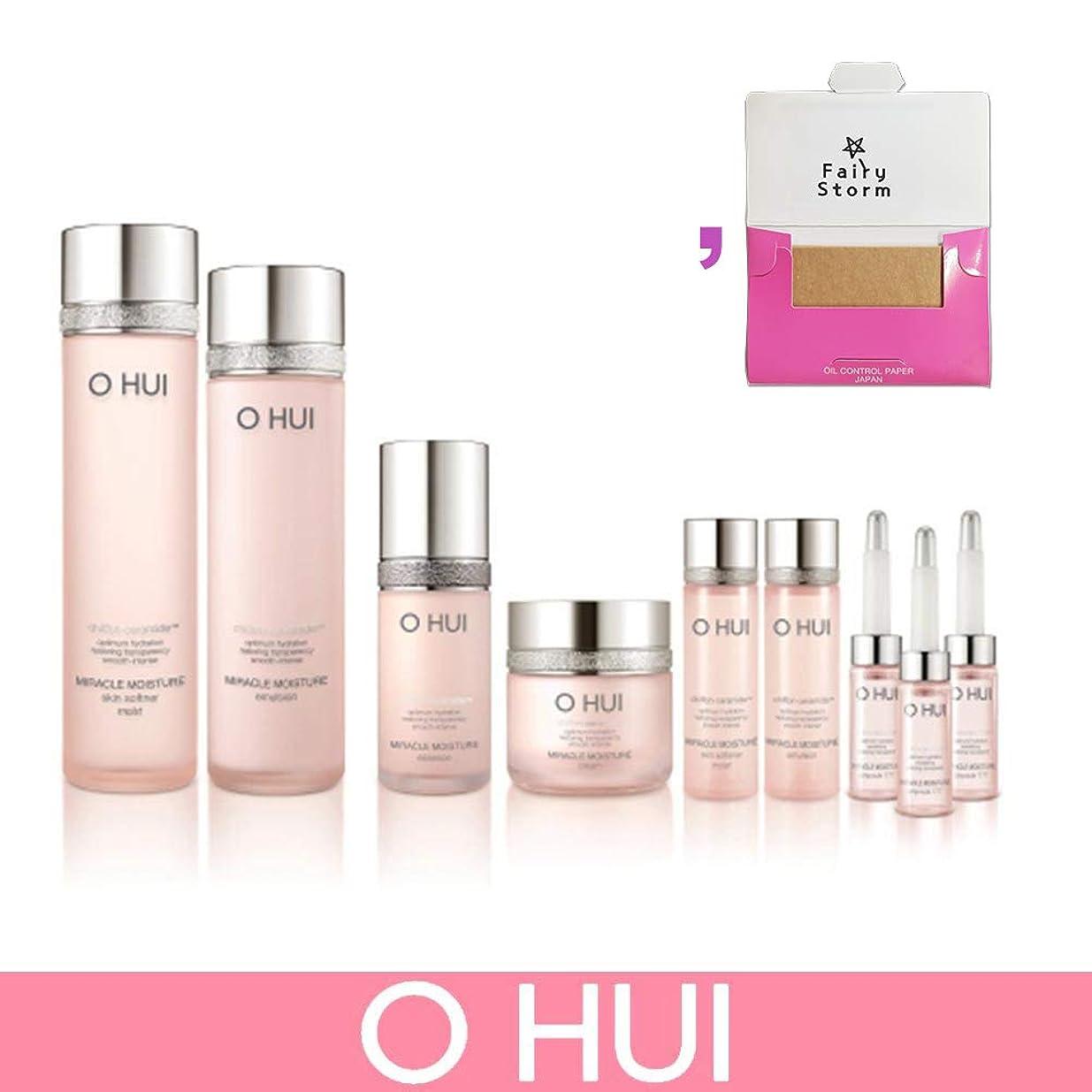 パイチェスをする調整可能[オフィ/O HUI]韓国化粧品 LG生活健康/O HUI MIRACLE MOISTURE SET/ミラクルモイスチャー 4種セット+ [Sample Gift](海外直送品)