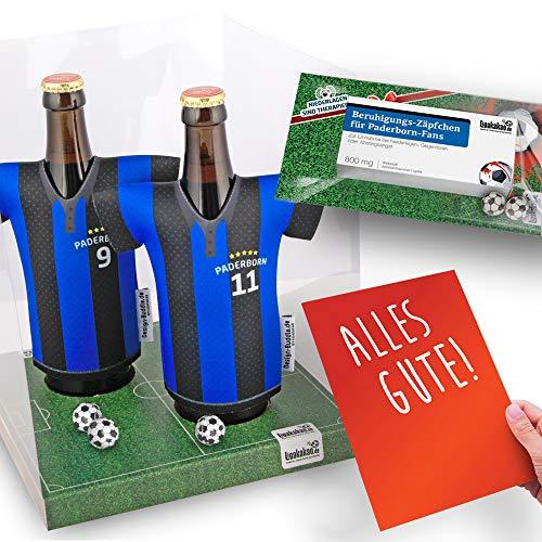 Home-Trikot ist jetzt Mein TRIKOTKÜHLER Geschenk-Set (2X Trikots + 1 ZÄPFCHEN) für Paderborn 07-Fans by Ligakakao.de