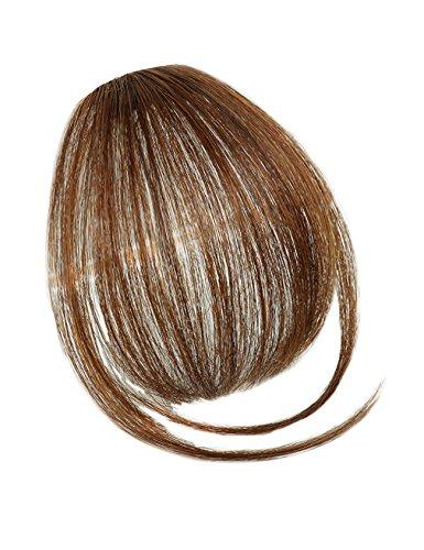 Jollyhair Perruque-Extension de Cheveux Naturelle-Femme Taille Unique Marron clair