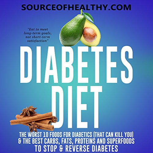 Diabetes Diet audiobook cover art