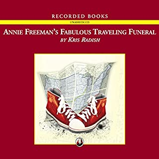 Annie Freeman's Fabulous Traveling Funeral audiobook cover art