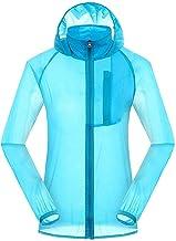 Upf 30 Plus Sun Protection Shirt Dunne Hoodie Lange Mouw Windbreaker Jacket voor Dames Mannen