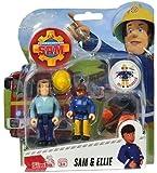 Feuerwehrmann Sam - Spiel Figuren Set II - Sam & Ellie -