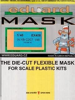EDUEX408 1:48 Eduard Mask - IAI Kfir C2/C7 (for the AMK model kit) MODEL KIT ACCESSORY by Eduard