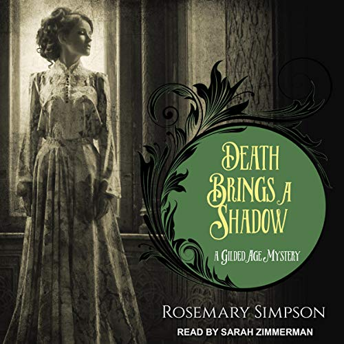 Death Brings a Shadow Audiobook By Rosemary Simpson cover art