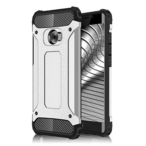 Custodia Rigida per Xiaomi Mi Note 2 Custodia Argento per Armature con Design