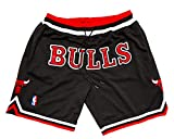 PTS Men's Bull Sporting Collection Sportswear Zipper Pockets Shorts 3 Color availble (Black/Pinstripe, XXL)