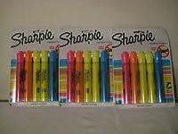 Sharpie Accent 5/パックAssortedタンクスタイル蛍光ペン( 3パック)