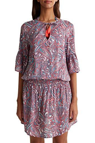 ESPRIT Tunika-Kleid mit Paisley-Print