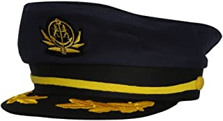 TopHeadwear Mens Adjustable Captain's Cap