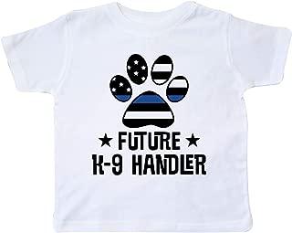 Police Law Enforcement Future K-9 Handler Toddler T-Shirt