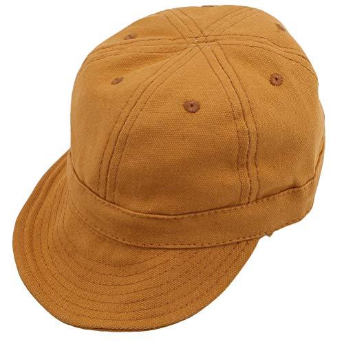 Flyblom 1Pcs Kinder Caps Baseball Caps Gebogene Hüte Retro Spring Caps Jungen und Mädchen Baseball Mütze Kinder weiche Kappe, Kurkuma