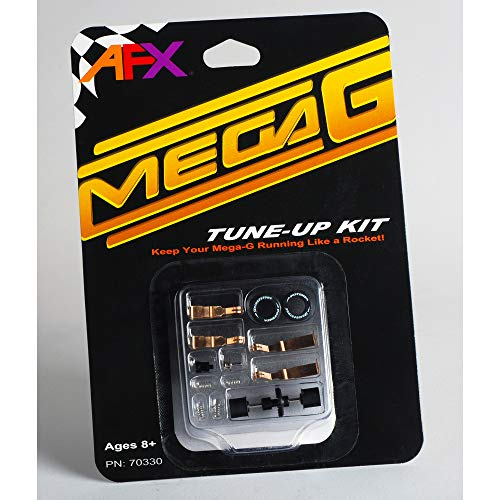 AFX/Racemasters Mega-G Tune Up Kit with Long & Short Pick Up Shoes, AFX70330