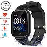 aimion Fitness Tracker Smart Watches,Activity Tracker Heart Rate Blood Pressure Monitor Waterproof Sport