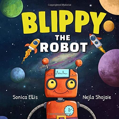 Blippy The Robot Robot Book For Kids product image