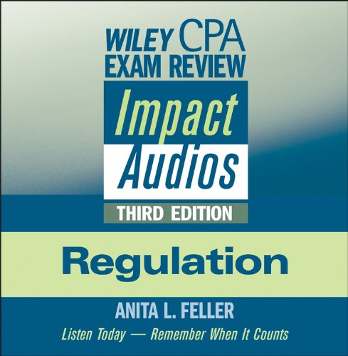 Wiley CPA Examination Review Impact Audios, Second Edition audiobook cover art