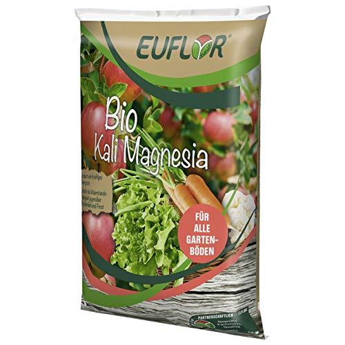 Euflor Bio Kali Magnesia 5 kg Sack • Spezialdünger zur gezielten Kalium- und Magnesiumversorgung • Zur Förderung des Blattgrünaufbaus • erhöht die Widerstandsfähigkeit gegenüber Trockenheit und Frost