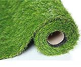 SUMC Kunstrasen Rasenteppich für Garten Grasmatte Künstlicher Rasen Rollrasen Kunststoffrasen Gras Rasenteppich Kunststoffrasen Terrasse Balkon Florhöhe 30 mm (1m X 2m)