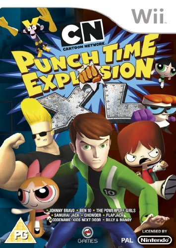 Cartoon Network Punch Time Explosion XL (Wii) by OG International