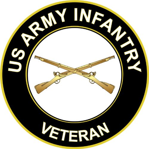 us army infantry decal - 3