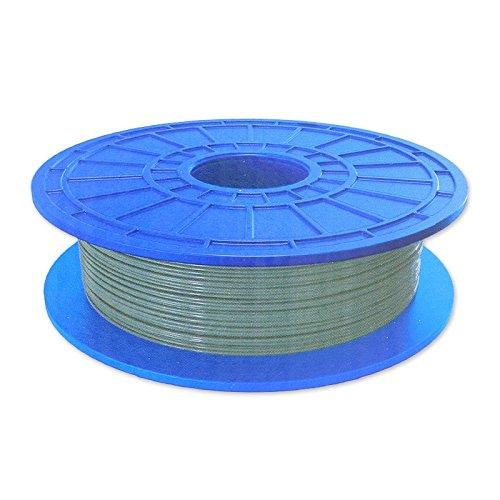Dremel Filament PLA für Drucker 3D Idea Builder silberfarbenx1