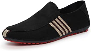 Another Summer Men's Lightweight Breathable Casual Style Canvas Loafers